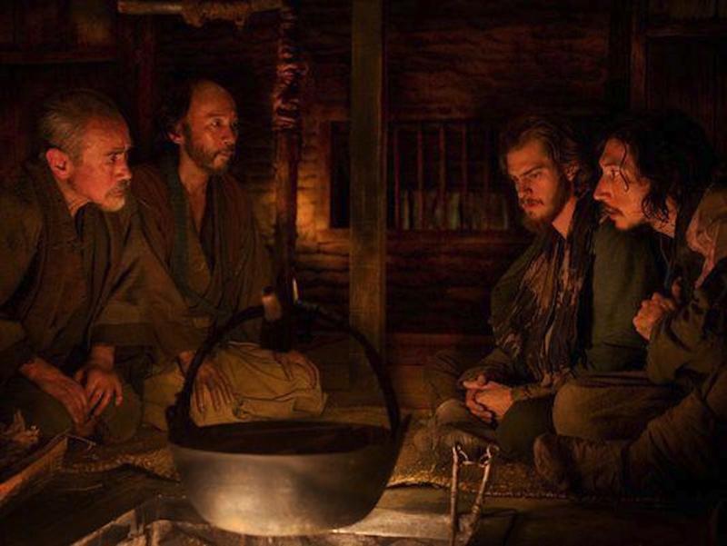 Adam Driver y Andrew Garfield en uno de los fotogramas de 'Silencio'.