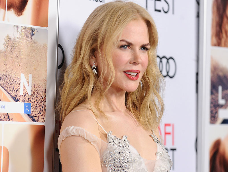 Nicole Kidman vuelve a la primera línea de Hollywood