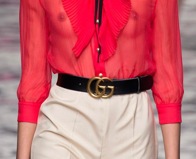 Así se ha convertido el cinturón de Gucci en el complemento más deseado de 2016