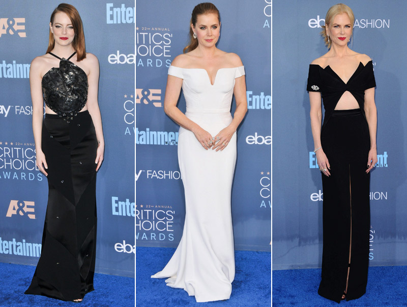 Todos los looks de los Critics' Choice Awards