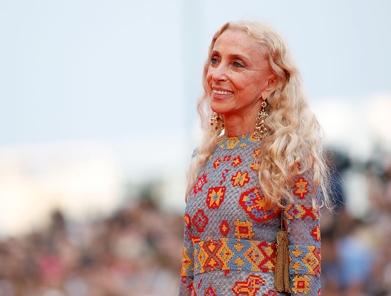 La industria de la moda llora la muerte de Franca Sozzani, editora jefe de Vogue Italia