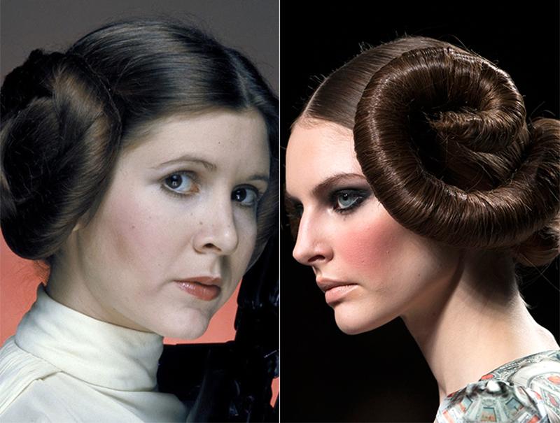 10 veces que la princesa Leia inspiró al mundo de la moda