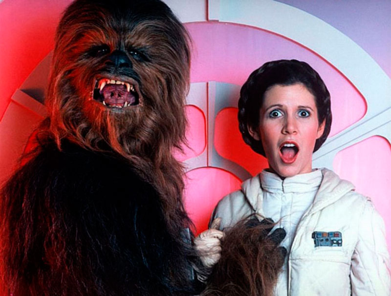 Carrie Fisher: las mejores frases de la 'antiprincesa' de Hollywood