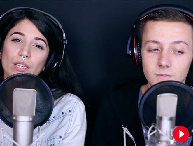 Estos dos jóvenes españoles han revolucionado internet cantando 55 éxitos en 4 minutos