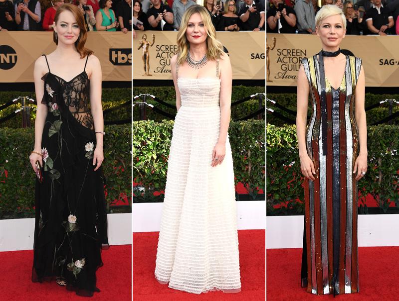 Los mejores looks de los SAG Awards 2017