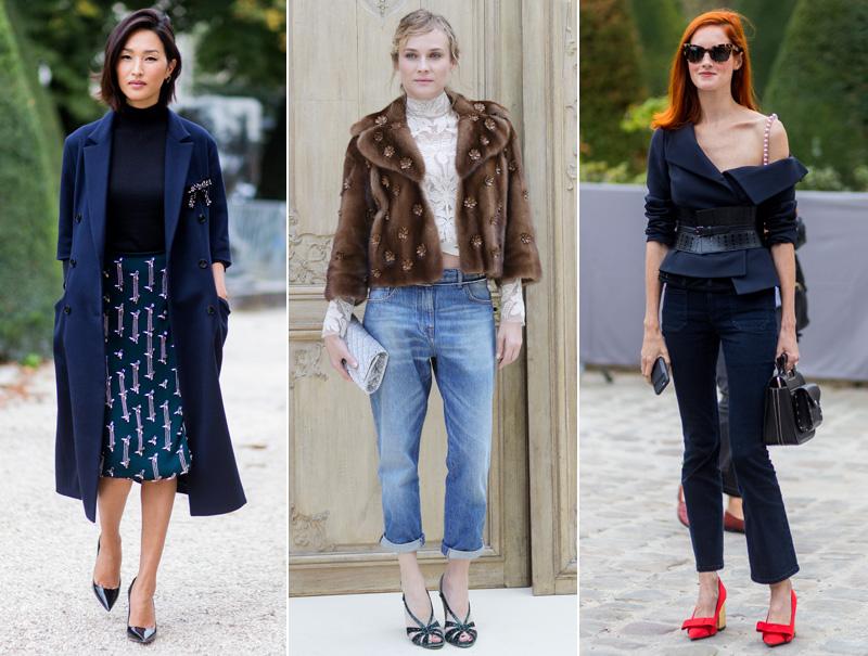 Mujeres bien vestidas y elegantes