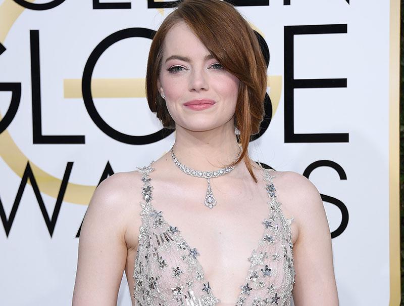 El Valentino de Emma Stone, la mejor vestida de la noche, al detalle
