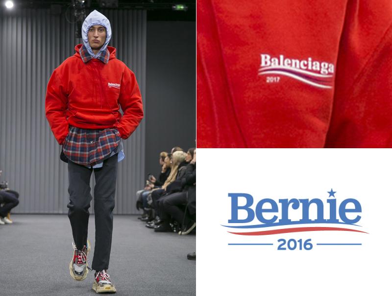 Bernie Sanders Balenciaga