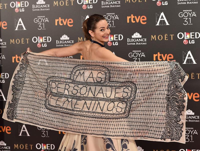 'Más personajes femeninos': los Goya se ponen feministas