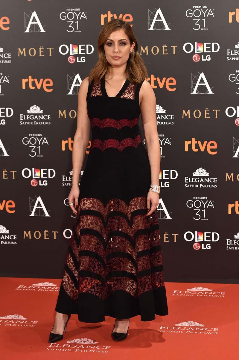 Alfombra roja Goya 2017