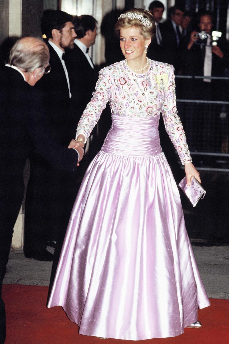 Vestido de novia lady di disenador