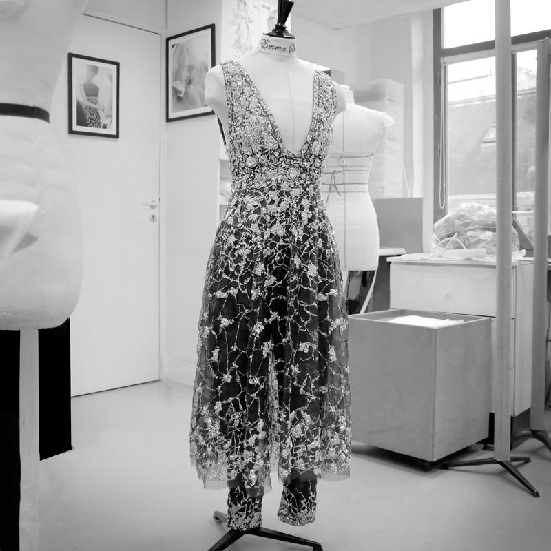 Vestido Chanel de Emma Stone