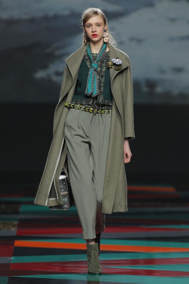 El abrigo, la prenda estrella de la colección más tribal de Ailanto