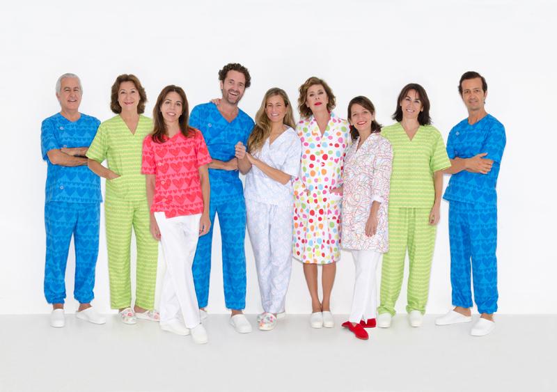 uniforme de enfermera