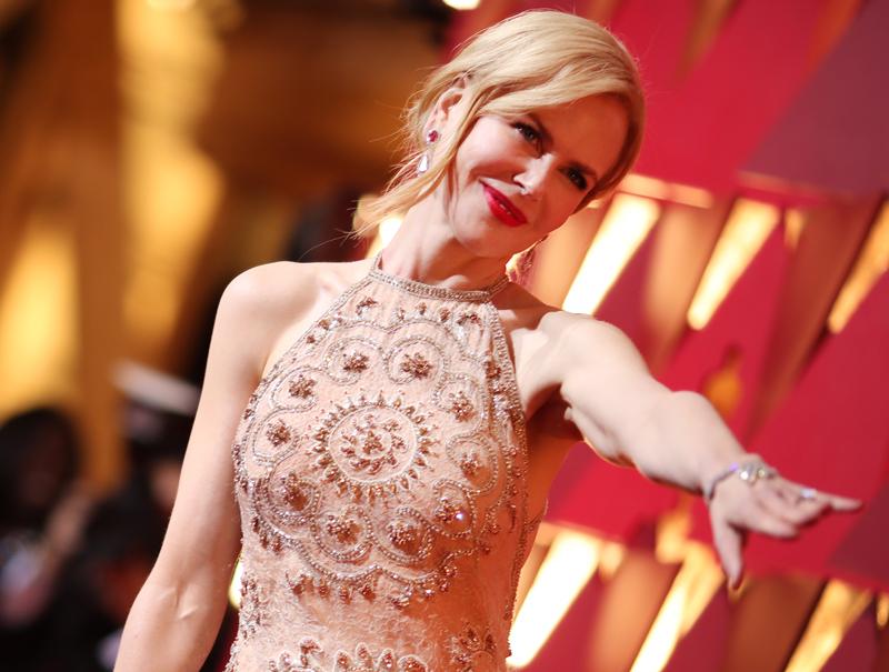 Insólito: Nicole Kidman no sabe aplaudir