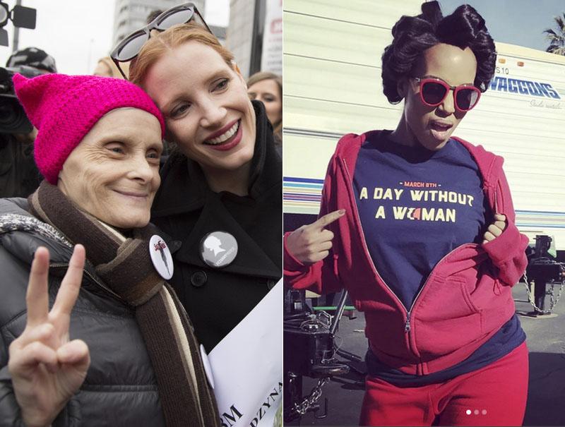 Así han celebrado las 'celebrities' el Día De la Mujer