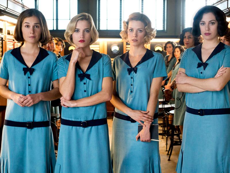 Por qué el vestuario de la 'Las chicas del cable' no será un nuevo 'Velvet'