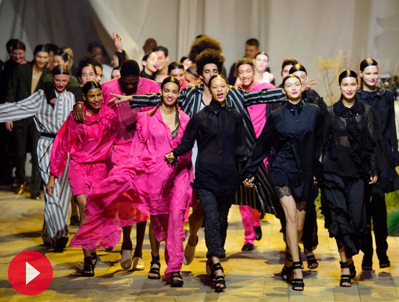 Así ha sido el desfile de H&M Studio en la semana de la moda de París