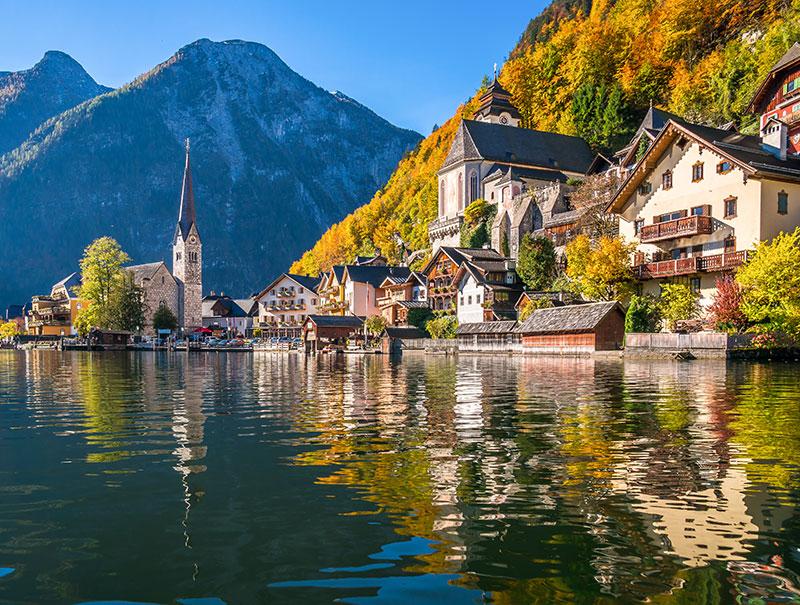 Hallstatt, el pueblo más bonito de Europa según Instagram
