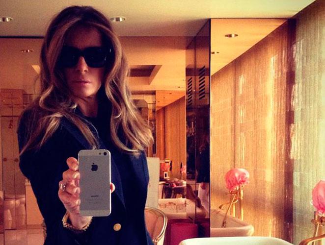 Los mensajes ocultos de las fotos que Melania Trump subió a Twitter