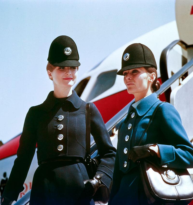 uniforme de azafata