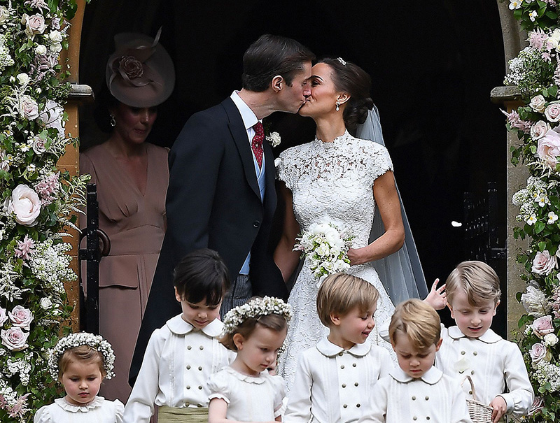 Al detalle: el vestido de novia de Pippa Middleton