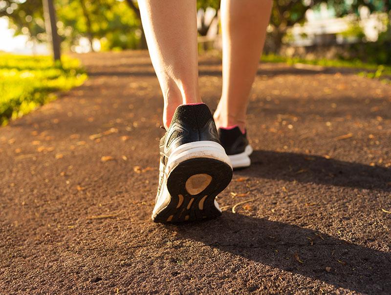 cuantos kilometros diarios debo caminar para bajar de peso