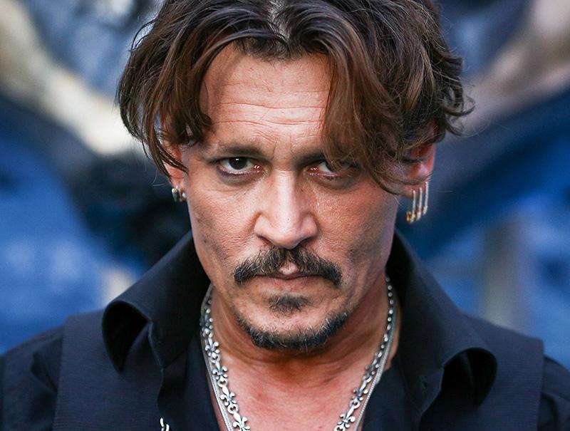 Los 5 escándalos que explican la caída en desgracia de Johnny Depp