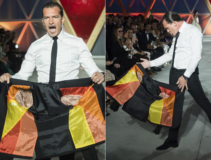 El éxtasis de Antonio Banderas haciendo de torero en Cannes