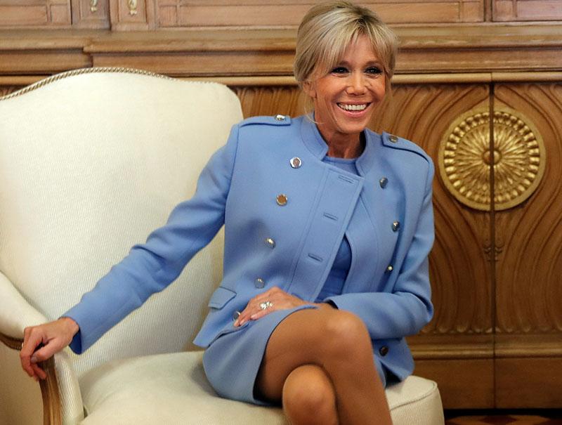 El imperio chocolatero de la primera dama francesa Brigitte Trogneux