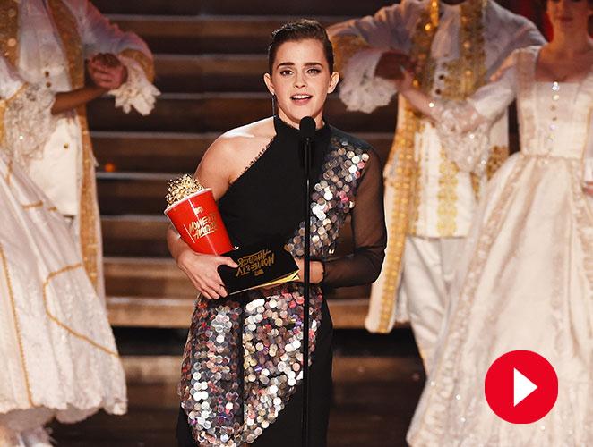El discurso de Emma Watson, lo mejor de los MTV Movie Awards