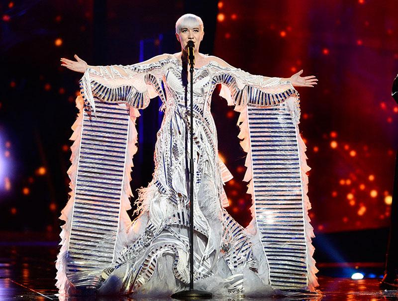 Los estilismos más imposibles de la historia de Eurovisión