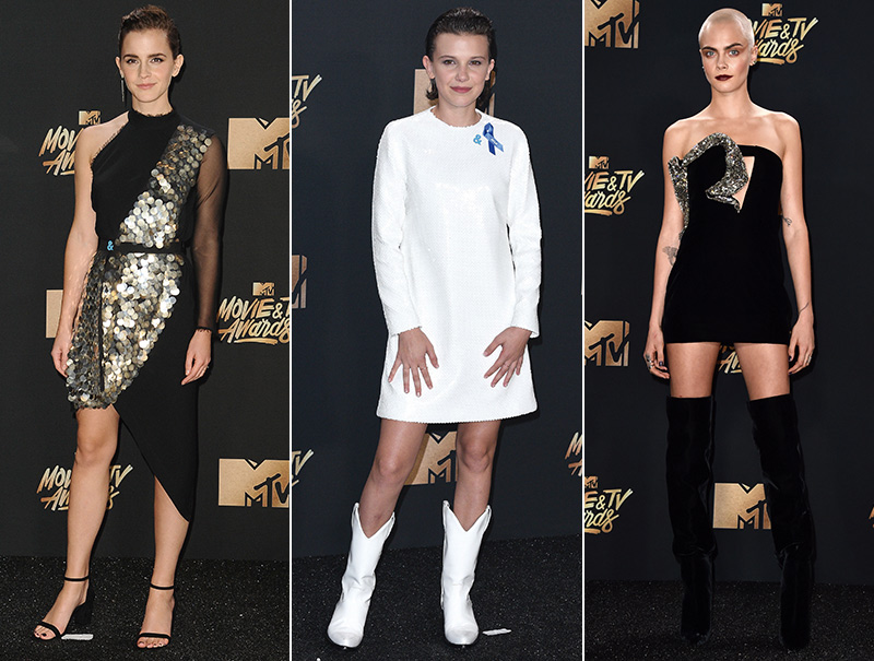 La alfombra roja de los MTV Movie Awards 2017