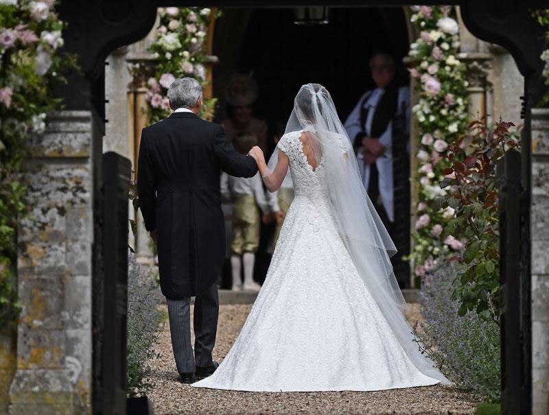 al detalle: el vestido de novia de pippa middleton | actualidad
