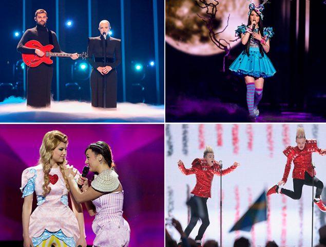 Los 50 looks más anacrónicos que nos regaló Eurovisión (el festival que jamás conoció la actualidad)