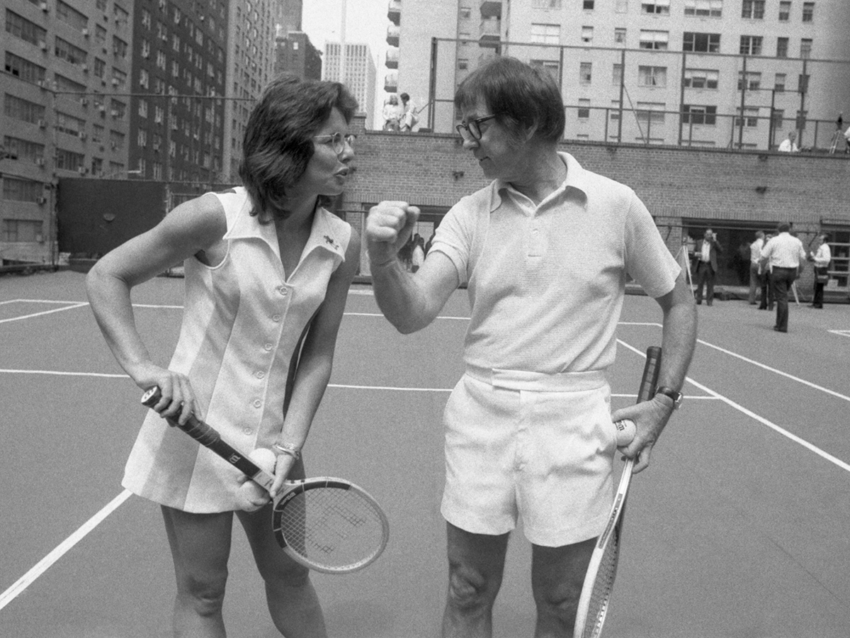 tenis Billie Jean King Bobby Riggs