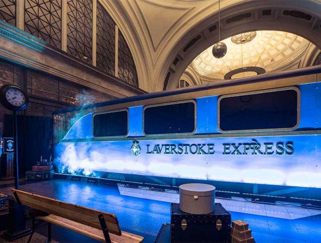 El tren gastronómico de Bombay Sapphire llega a Madrid