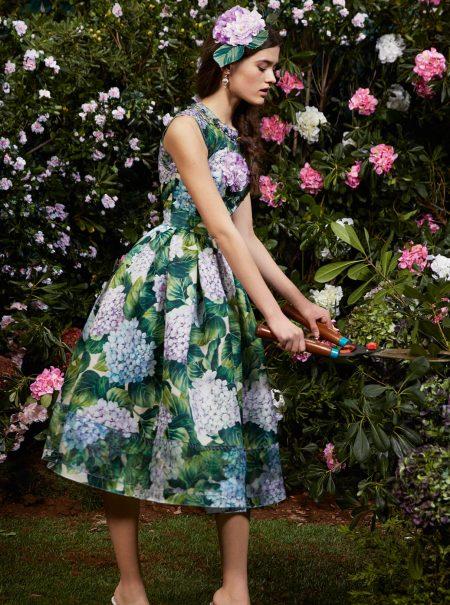 La obsesión de las famosas por el estampado de hortensias