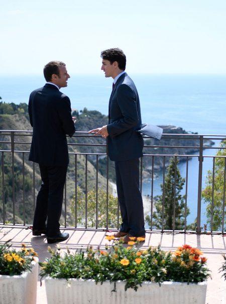 Qué hay detrás de los virales de Trudeau y Macron, los novios de Internet