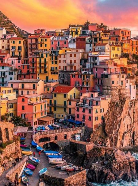 7 sitios muy coloridos a los que ir de vacaciones, según Instagram