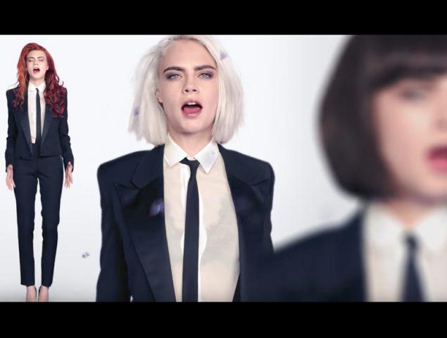 Cara Delevingne protagoniza su primer vídeo musical