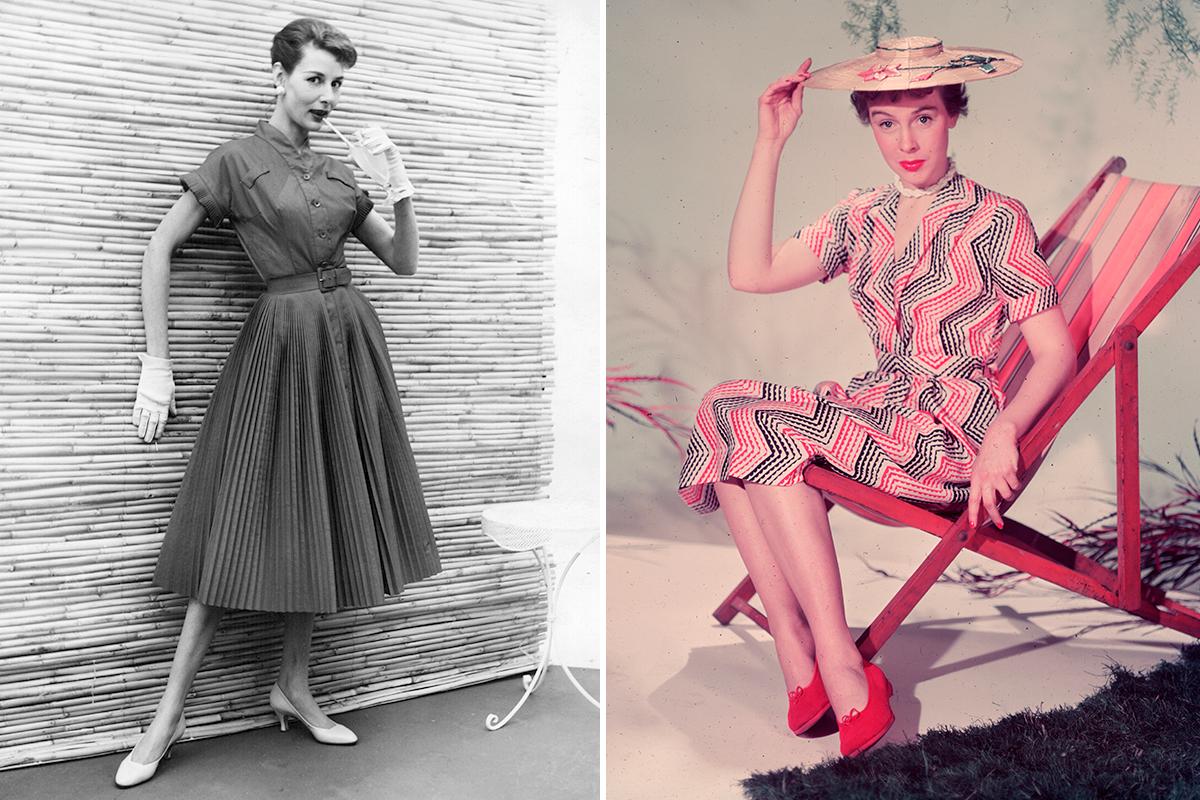 2a4122820b Vestidos de los años 50. Foto  Getty