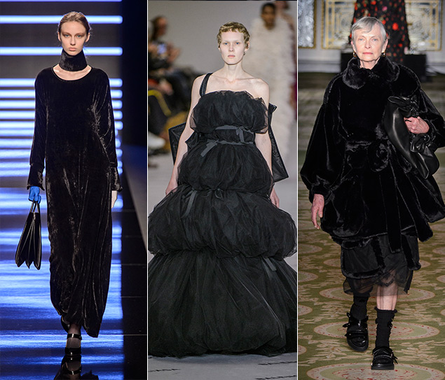 5 tendencias para vestir de negro este otoño