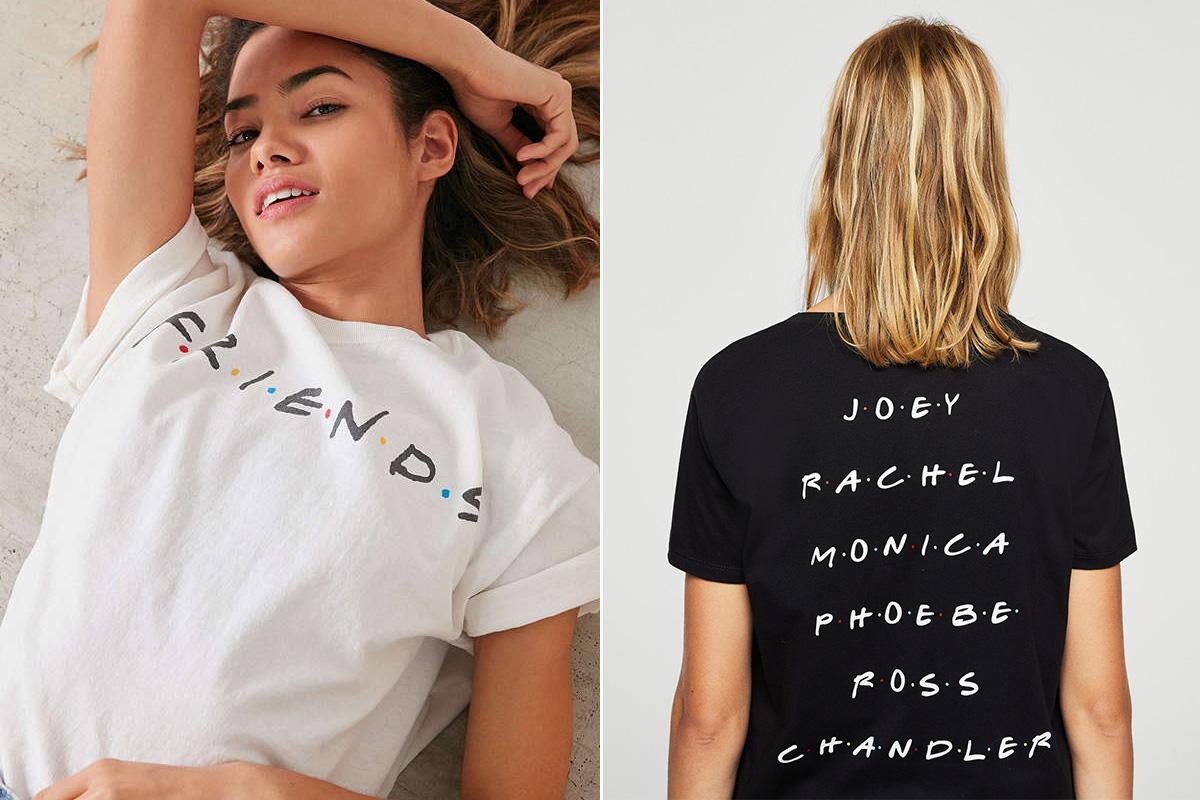 sitio web para descuento amplia selección de diseños últimos lanzamientos La de 'Friends' es la nueva camiseta de los Ramones ...