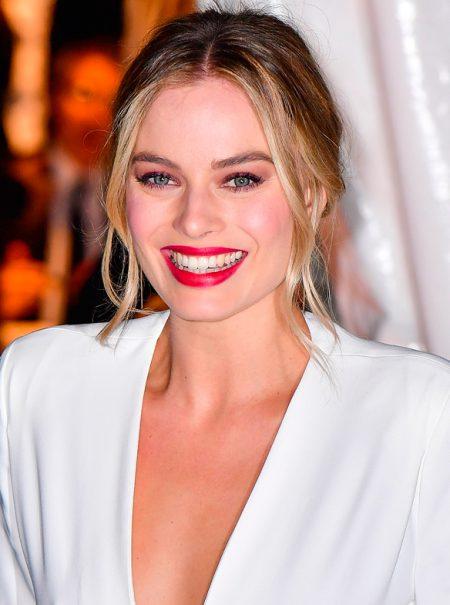 La transformación de Margot Robbie para hacer de Isabel I