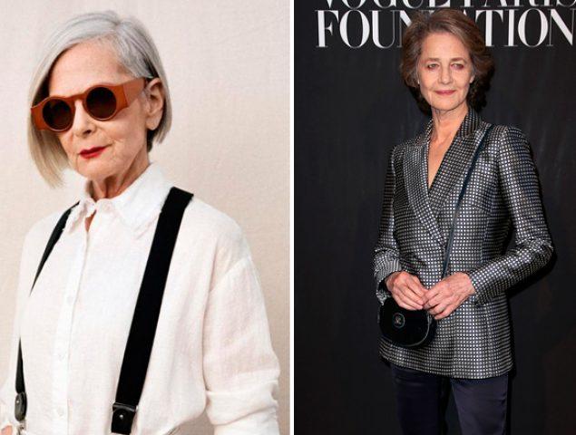 Mujeres mayores de 60 con más estilo que las veinteañeras