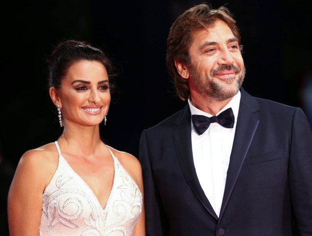 Javier Bardem y Penélope Cruz deslumbran en Venecia
