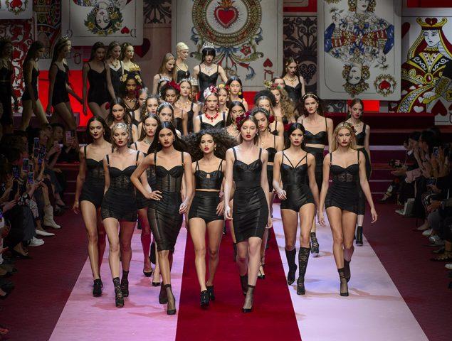 Las reinas de corazones de Dolce & Gabbana