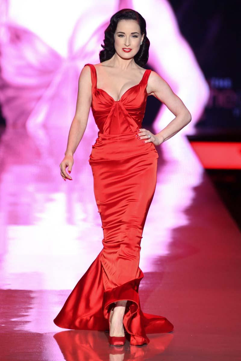 Los vestidos rojos más icónicos de la historia | Actualidad, Moda ...