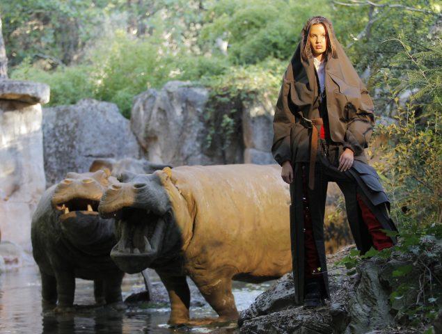 María Ke Fisherman cierra la semana de la moda de Madrid en la jungla